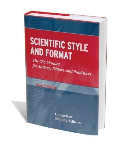 9780874700626: Scientific Style and Format (The CSE Manual for Authors, Editors, and Publishers