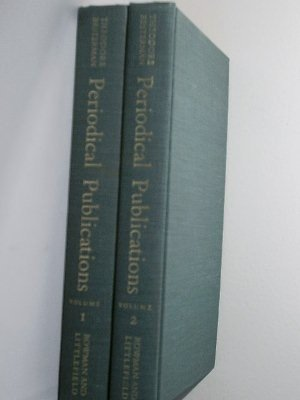 Periodical Publications: A Bibliography of Bibliographies