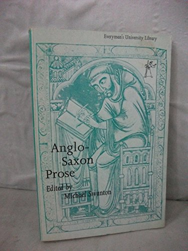 Anglo-Saxon Prose: Rowman and Littlefield