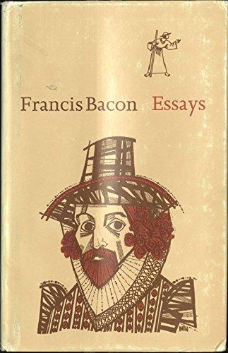 Francis Bacon Essays: Bacon, Francis