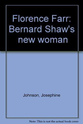 """9780874717075: Florence Farr: Bernard Shaw's """"new woman"""""""