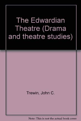 9780874718478: The Edwardian Theatre (Drama and theatre studies)