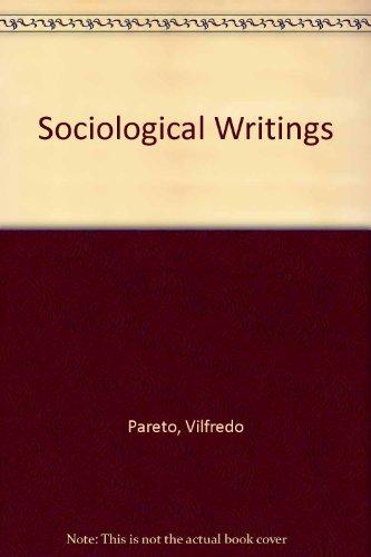 9780874718553: Sociological Writings