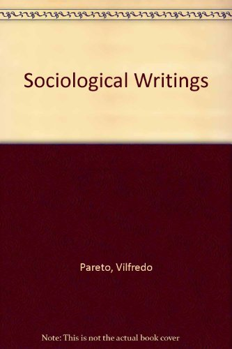 9780874718553: Sociological Writings