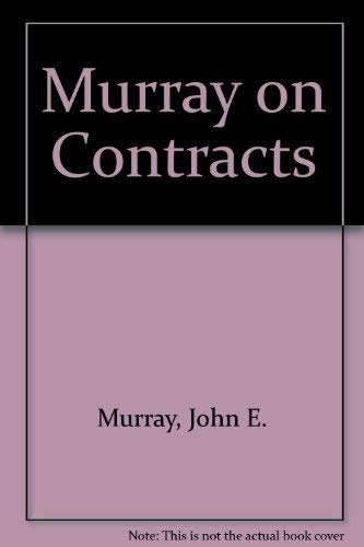 9780874736137: Murray on Contracts