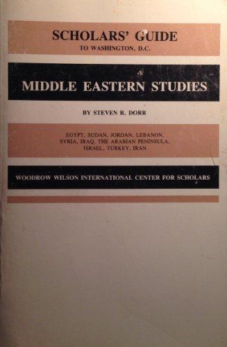 Scholars' Guide to Washington, D.C. for Middle Eastern Studies: Egypt, Sudan, Jordan, Lebanon, ...