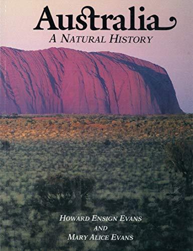 9780874744170: Australia: A Natural History