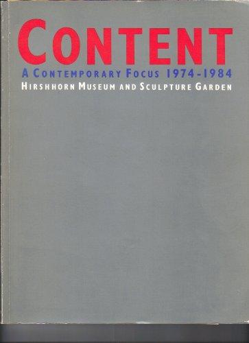 Content: A contemporary focus, 1974-1984: Fox, Howard N