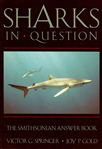 9780874748772: SHARKS IN QUESTION (Smithsonian Answer Books)
