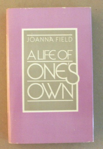 9780874772012: A life of one's own
