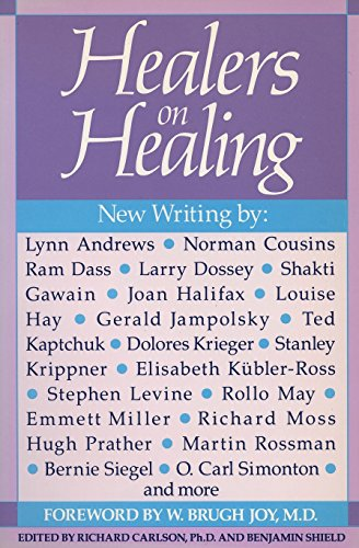 Healers on Healing (New Consciousness Reader) (9780874774948) by Carlson, Richard