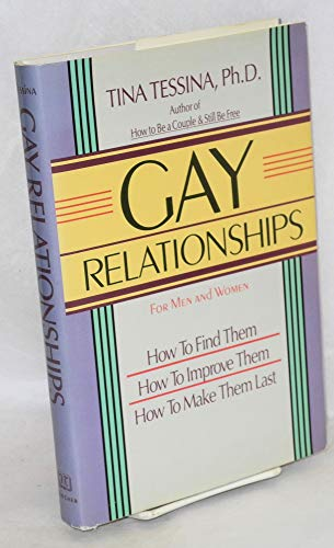 9780874775174: Gay Relationships For Men and Women