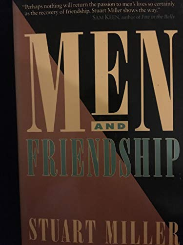9780874776850: Men and Friendship
