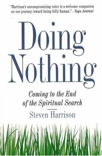 9780874779417: Doing Nothing: Coming to the End of the Spiritual Search