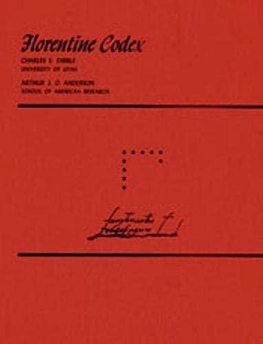 9780874800074: Florentine Codex: Book 10