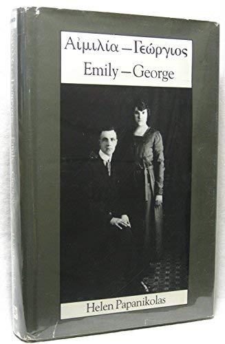 Aimilia-Giorges/Emily-George (Utah Centennial Series): Papanikolas, Helen