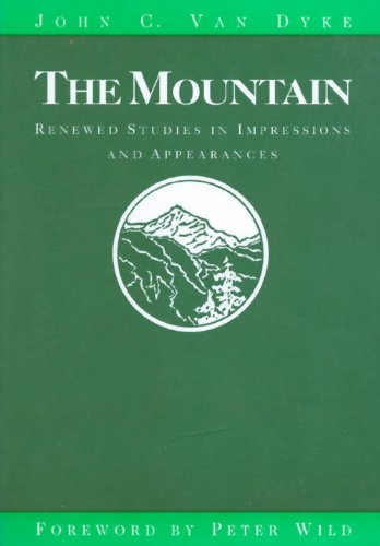 9780874803877: The Mountain: Renewed Studies in Impressions and Appearances