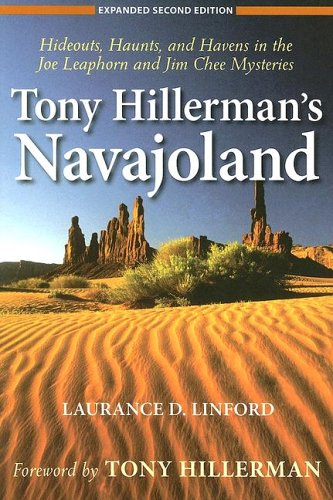 9780874808483: Tony Hillerman's Navajoland: Hideouts, Haunts, and Havens in the Joe Leaphorn and Jim Chee Mysteries