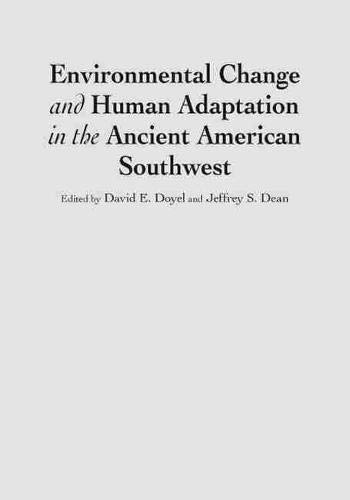 9780874808537: Environmental Change and Human Adaptation in the Ancient American Southwest