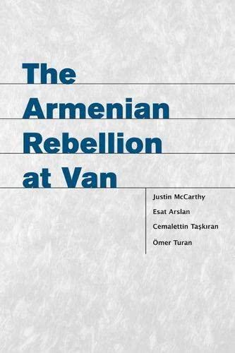 9780874808704: The Armenian Rebellion at Van (Utah Series in Turkish and Islamic Stud)