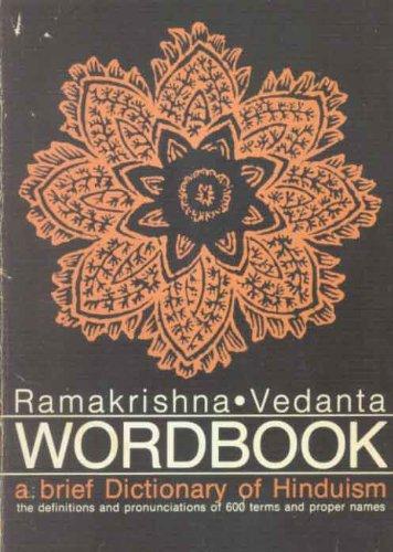 9780874810172: A Brief Dictionary of Hinduism: Ramakrishna - Vedanta Wordbook