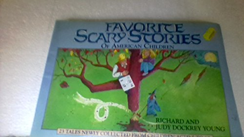 9780874831191: Favorite scary stories of American children