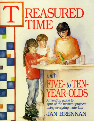 9780874835014: Treasured Time with Five- to Ten-Year-Olds
