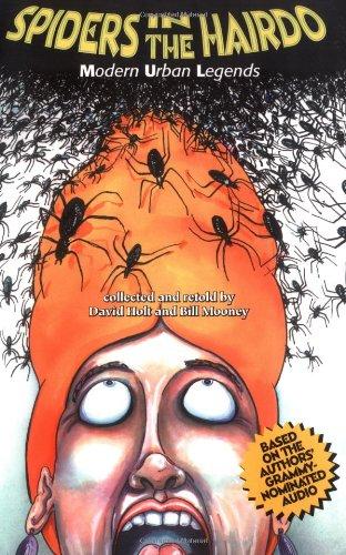 9780874835250: Spiders in the Hairdo: Modern Urban Legends