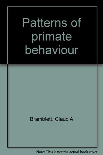 9780874843262: Patterns of primate behavior