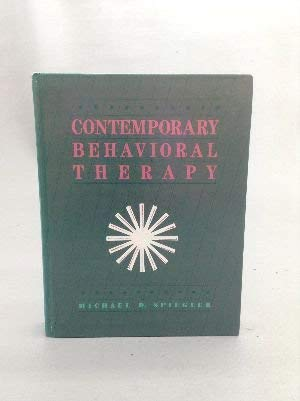 9780874843507: Contemporary Behavioral Therapy
