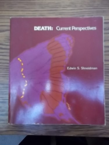 9780874845082: Death: Current perspectives