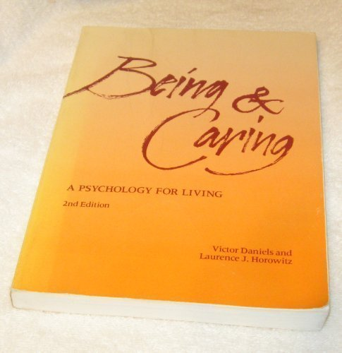 9780874845440: Being and Caring