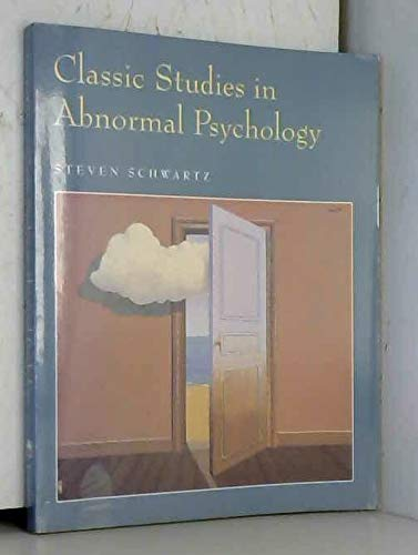 9780874848663: Classic Studies In Abnormal Psychology