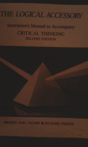 9780874849141: Critical Thinking