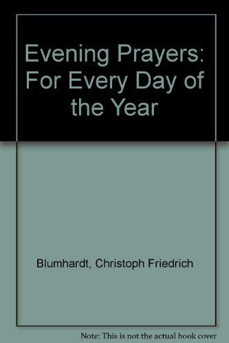 9780874862041: Evening Prayers: For Every Day of the Year (English and German Edition)