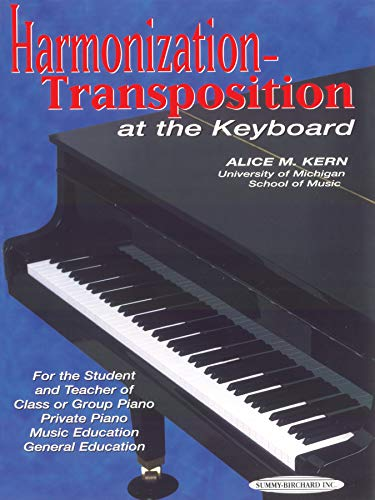 9780874870596: Harmonization-Transposition at the Keyboard