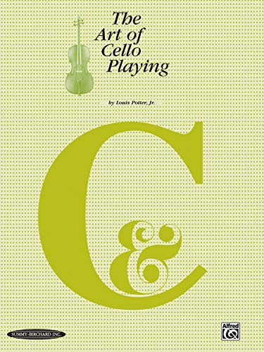 9780874870718: Art of Cello Playing