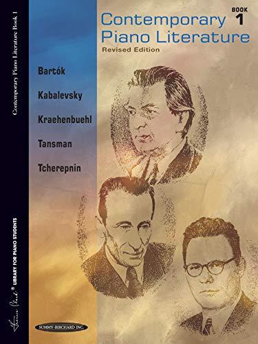 9780874871074: Contemporary Piano Literature: Book 1