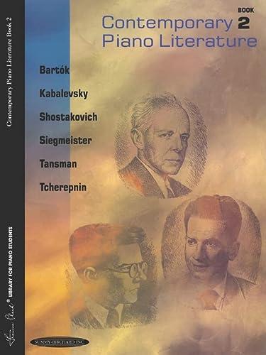 9780874871081: Contemporary Piano Literature, Bk 2 (Frances Clark Library for Piano Students)