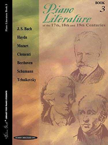 Piano Literature of the 17th, 18th and