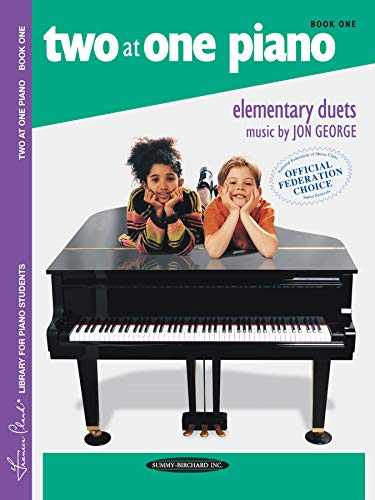 9780874871418: Two at One Piano, Bk 1 (Frances Clark Library)