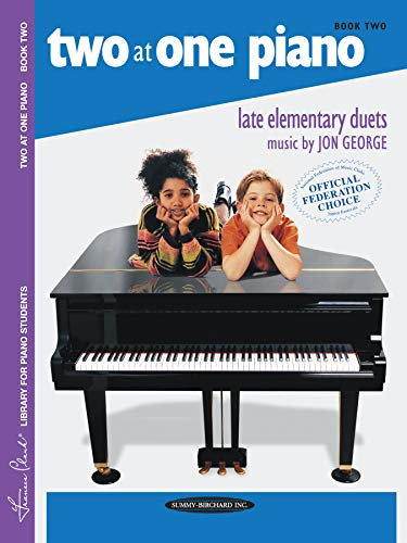 9780874871425: Two at One Piano, Bk 2 (Frances Clark Library)