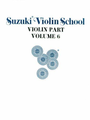 9780874871548: Suzuki Violin School, Vol 6: Violin Part: 006