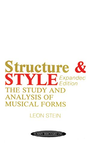 9780874871647: Anthology of Musical Forms -- Structure & Style: The Study and Analysis of Musical Forms