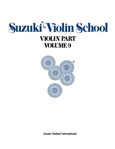 9780874872255: Suzuki Violin School, Vol 9: Violin Part