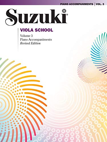 9780874872460: Suzuki Viola School Piano Accompaniment 3: Piano Accompaniment