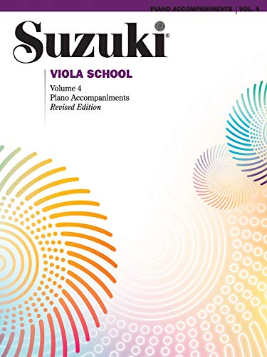 9780874872750: Suzuki Viola School, Vol 4: Piano Acc