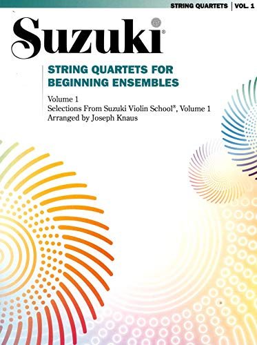 9780874872811: Suzuki String Quartets for Beginning Ensembles - Book One