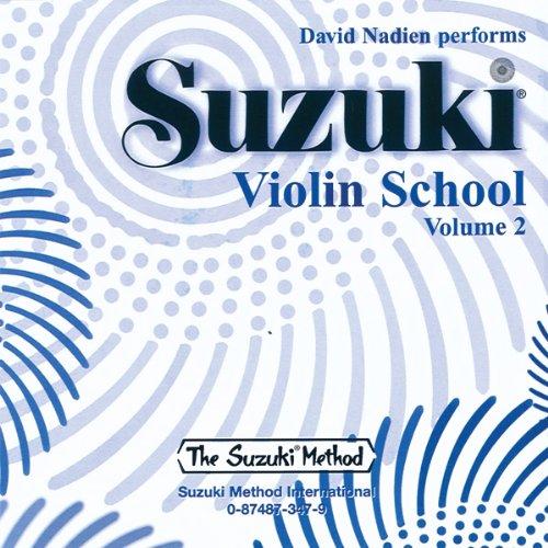 9780874873474: Suzuki Violin School, Volume 2 (CD)