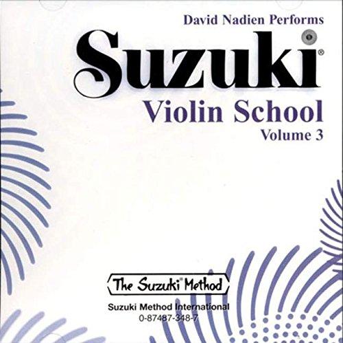 9780874873481: David Nadien Performs Suzuki Violin School: 3